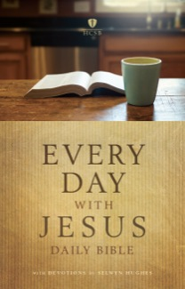 Every Day with Jesus Bible, Hardcover